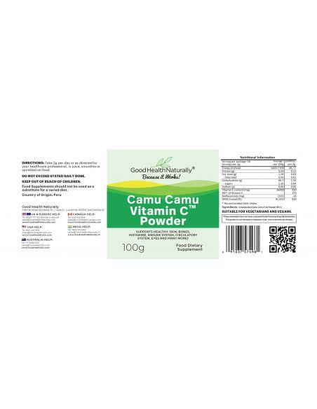 Camu Camu Vitamin C Powder Home