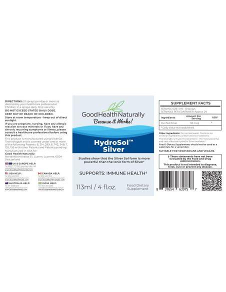 Hydrosol™ Silver Spray 113mls Home