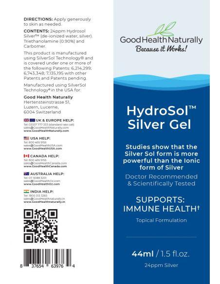 Hydrosol™ Silver Gel Home