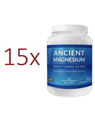 Ancient Magnesium Flakes Ultra 2kg - Buy 12 Get 3 FREE Home