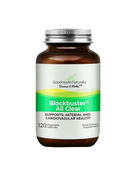Blockbuster AllClear™ 120 Delayed Release Capsules Home