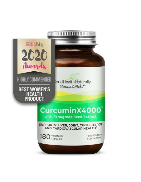CurcuminX4000® with Fenugreek Capsules Home