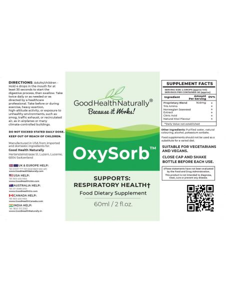 OxySorb™ - Buy 12 Get 3 FREE Home
