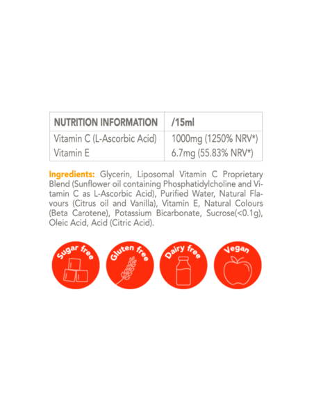 Vitamin C Zooki – liposomal Vitamin C – 50 sachets Home
